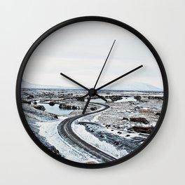 Near Myvatn Wall Clock