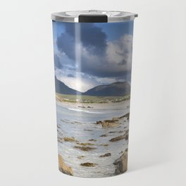 Renvyle Beach in Connemara, Galway, Ireland Travel Mug