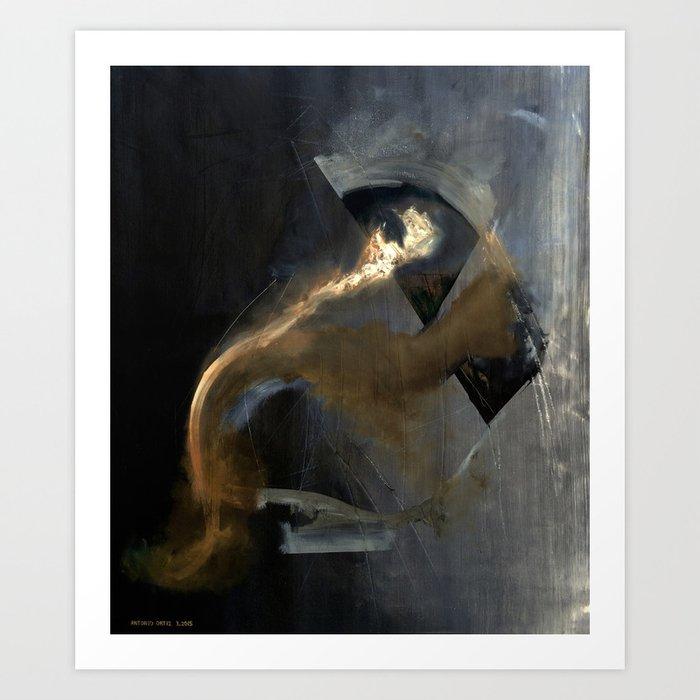 Intensity (oil on canvas) Art Print
