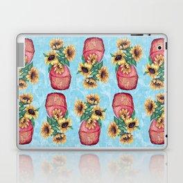 Sunflower Vase Laptop & iPad Skin