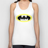 comic book Tank Tops featuring Braces/ Comic book by Aztec Pineapple
