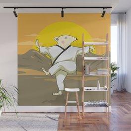 Tai Chi Mouse Wall Mural