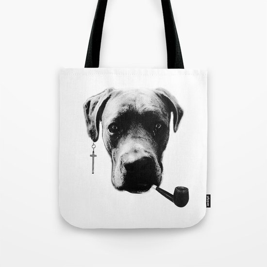 Father Figure Tote Bag