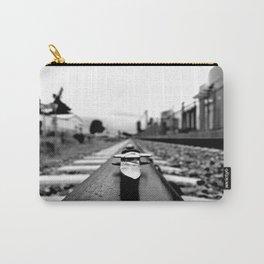 Train track stiletto Carry-All Pouch