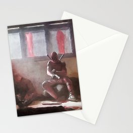 The Merc With A Mouth Stops To Reload - Dead Stationery Cards