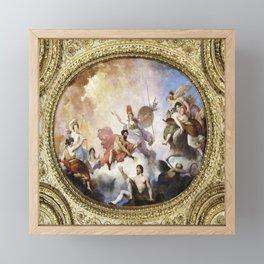 Fresco on Ceiling in Paris Framed Mini Art Print
