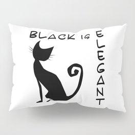 black is elegant Pillow Sham