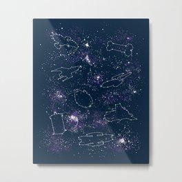 Star Ships Metal Print