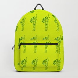 Ancient Nymph Mythical Mythology Color Pattern Backpack