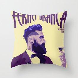 Fernet Branca new age Throw Pillow