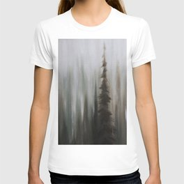 Pacific Northwest Forest oil painting by Jess Purser T-shirt