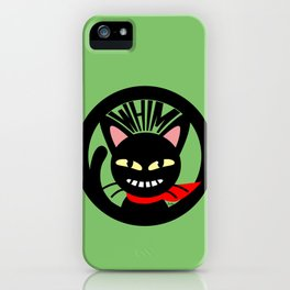 Whim is grinning iPhone Case