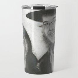 Rebbetzin Rivka and Gavriel Holtzberg Travel Mug