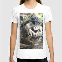 animal skull T-shirts featuring Animal Skull by CJ Thornburg