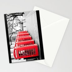Vintage Red  Stationery Cards