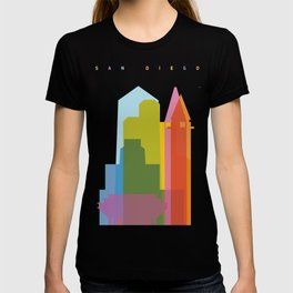 Shapes of San Diego T-shirt