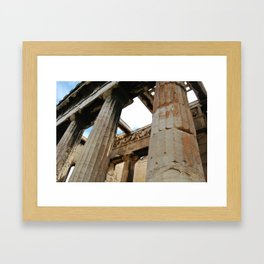 Ancient World Framed Art Print