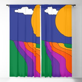Rolling Hills Blackout Curtain