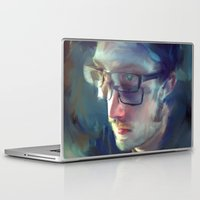 lou reed Laptop & iPad Skins featuring lou Stuber by robotrake