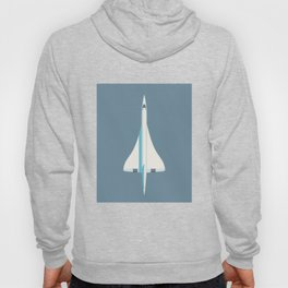 Concorde Supersonic Jet Airliner - Slate Hoody