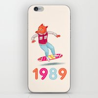 1989 iPhone & iPod Skins featuring 1989 by Laura Wood