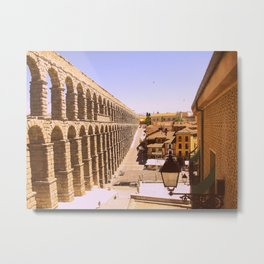 Acueducto de Segovia Metal Print