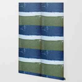 Buoy Stripes Wallpaper