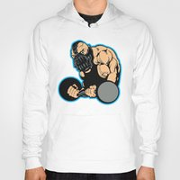 bane Hoodies featuring B gym 2 by Buby87