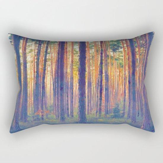 Forest - Filtering light Rectangular Pillow