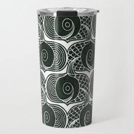 Gone Fishin (panel) Travel Mug