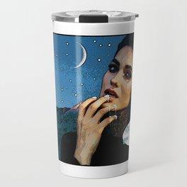 """Pop-Art Illustration """"You, Heart Breaker"""" Travel Mug"""