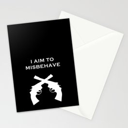 Aim to Misbehave V2 Stationery Cards