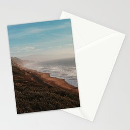 Fort Funston Park in San Francisco, California Stationery Cards