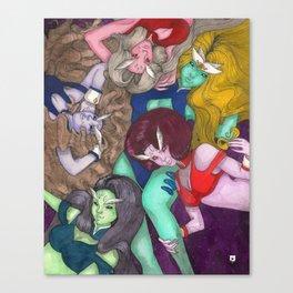 DD Girls Canvas Print