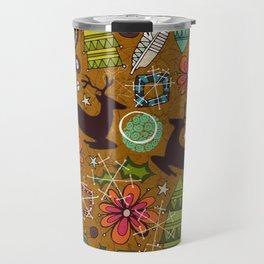 joyous jumble gold Travel Mug