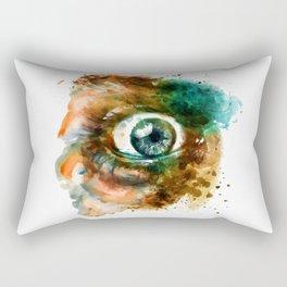 Fear Eye Rectangular Pillow