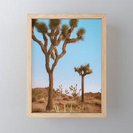 Joshua Tree Afternoons Framed Mini Art Print