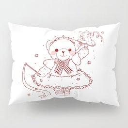 The Adventures of Bear and Baby Bear-Prima Ballerina Pillow Sham