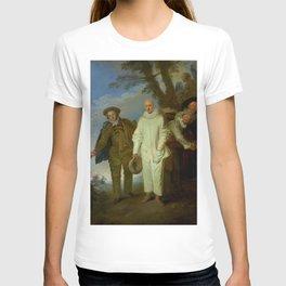 """Antoine Watteau """"The Italian Comedians"""" (II) T-shirt"""