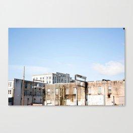 Aberdeen Skyline Canvas Print