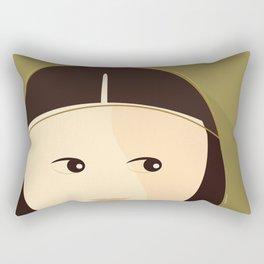 My Gioconda Rectangular Pillow