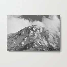 Snowy Alaskan Mountain - 2 Metal Print