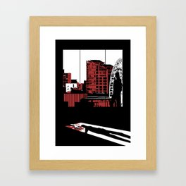 Bad Guys Need Love Too Framed Art Print