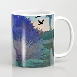 TheDesert blue -By Sherri Of Palm Springs Coffee Mug