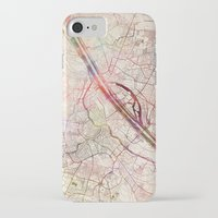 vienna iPhone & iPod Cases featuring Vienna by MapMapMaps.Watercolors