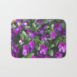 Botanical Florals Zencolor2 Bath Mat