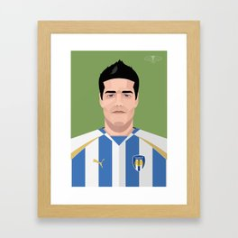 Kem Izzet - Colchester United Legends Framed Art Print