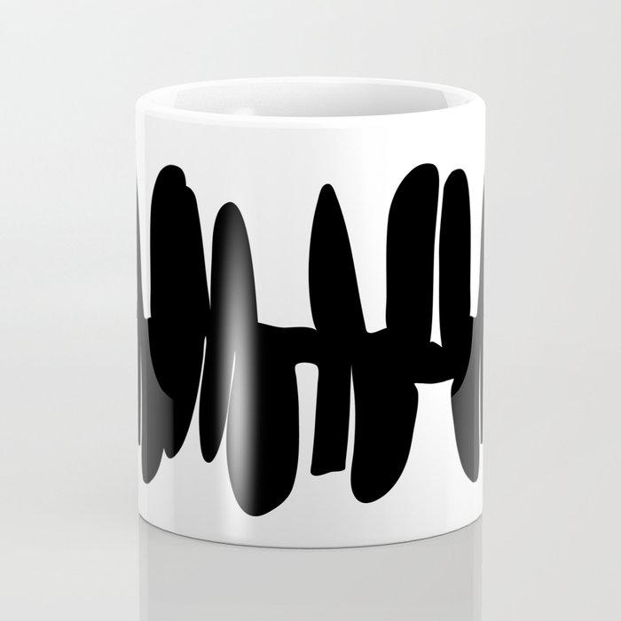 Stacked up b&w Coffee Mug