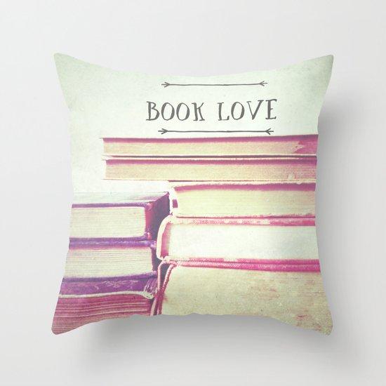 Book Love Throw Pillow