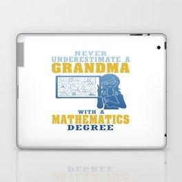 Mathematics Grandma Laptop & iPad Skin